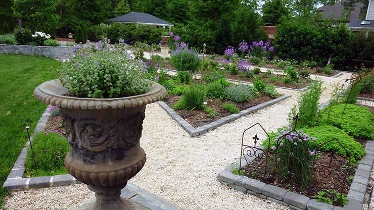 The Gardens of Ashland Hall