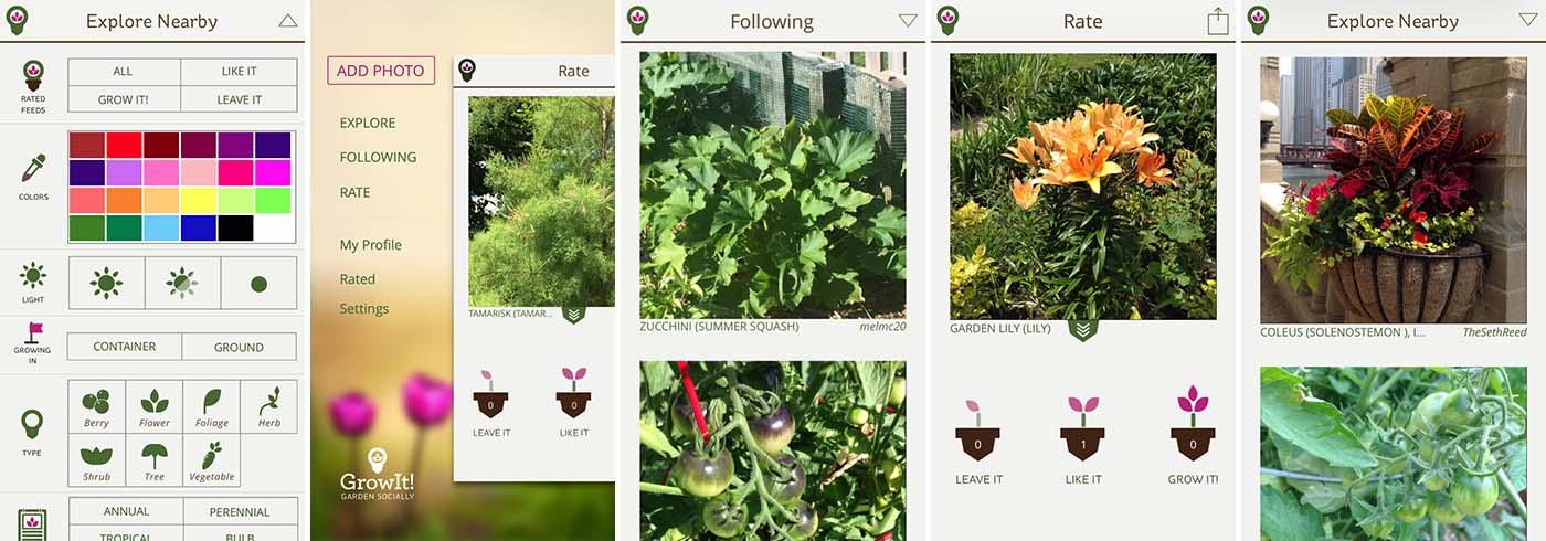 GrowIt! screenshots