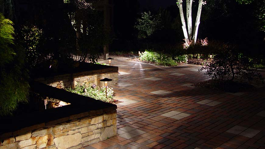 Thank YousJC Raulston Arboretum   Moonlight in the Garden. Luminary Lighting John Kent. Home Design Ideas