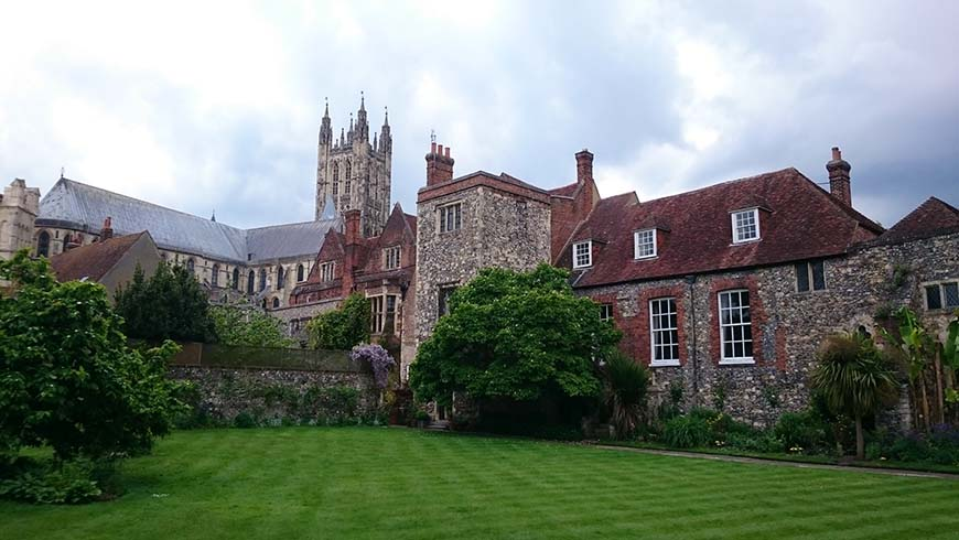 Canterbury Cathedral deanery garden