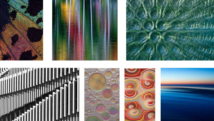 abstract photography collage