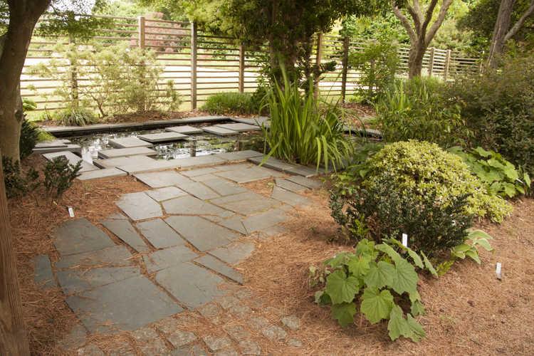 Stepping Stone Water Garden