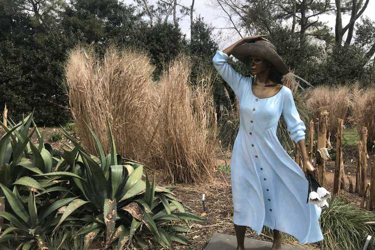 Maiden in the Monocot Garden